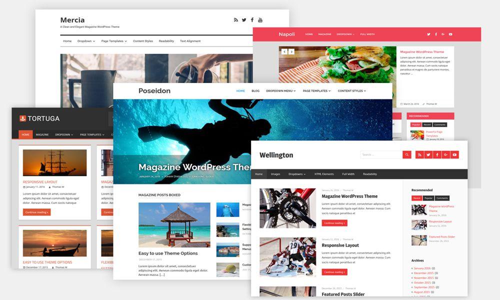 Επιλογή Θέματος Wordpress